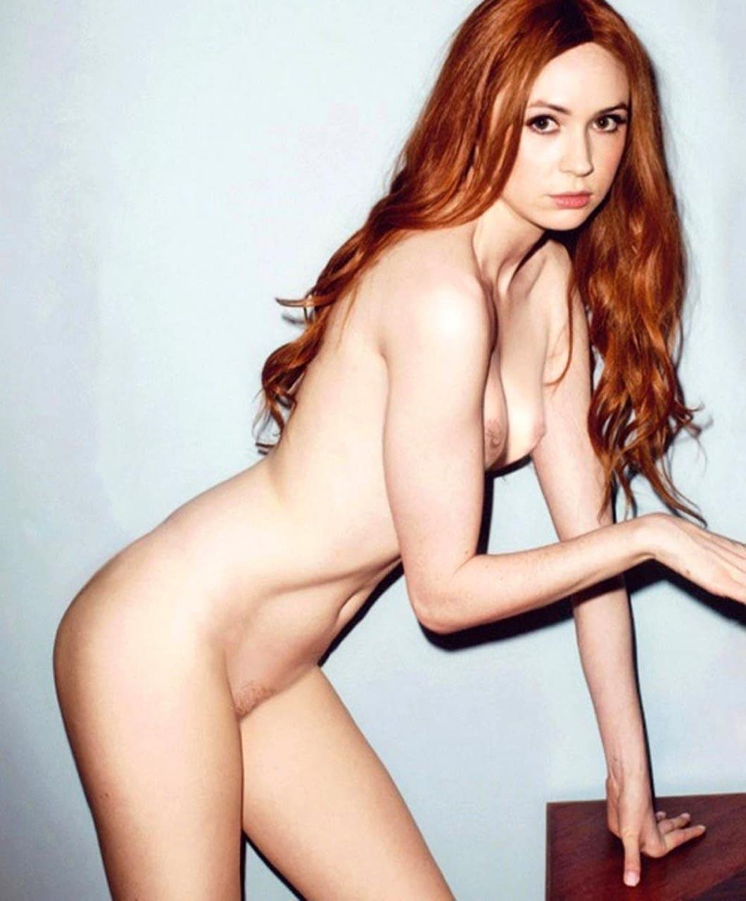 Nude pics of Karen Gillan