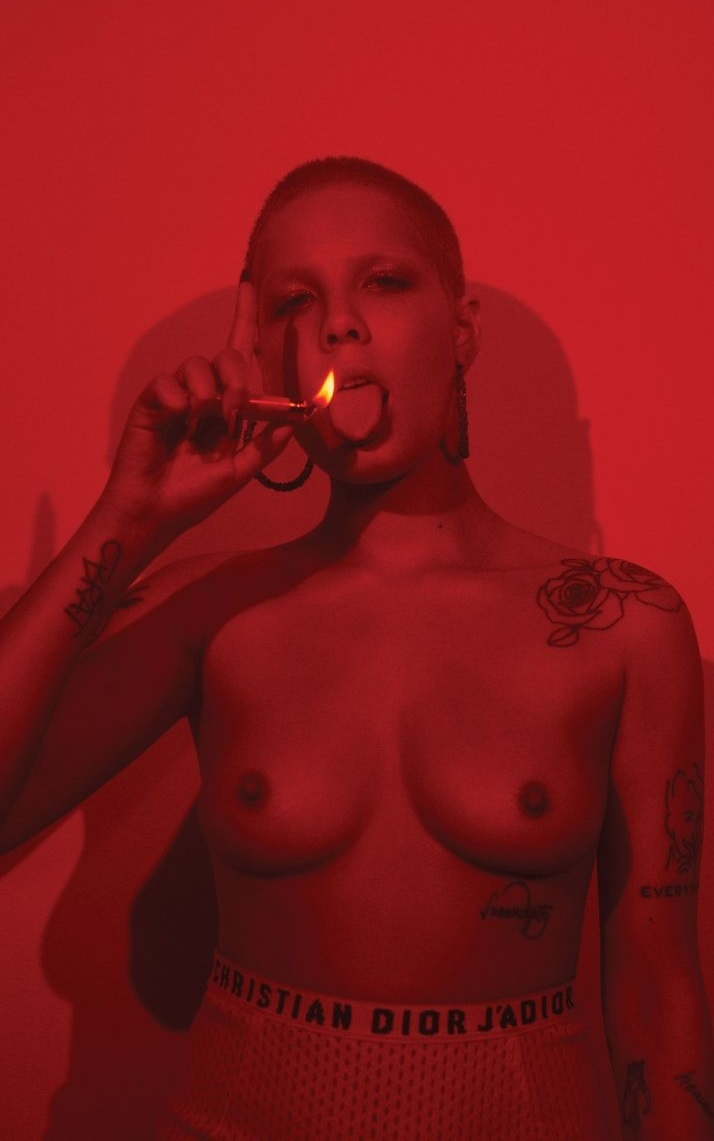 Halsey fappening