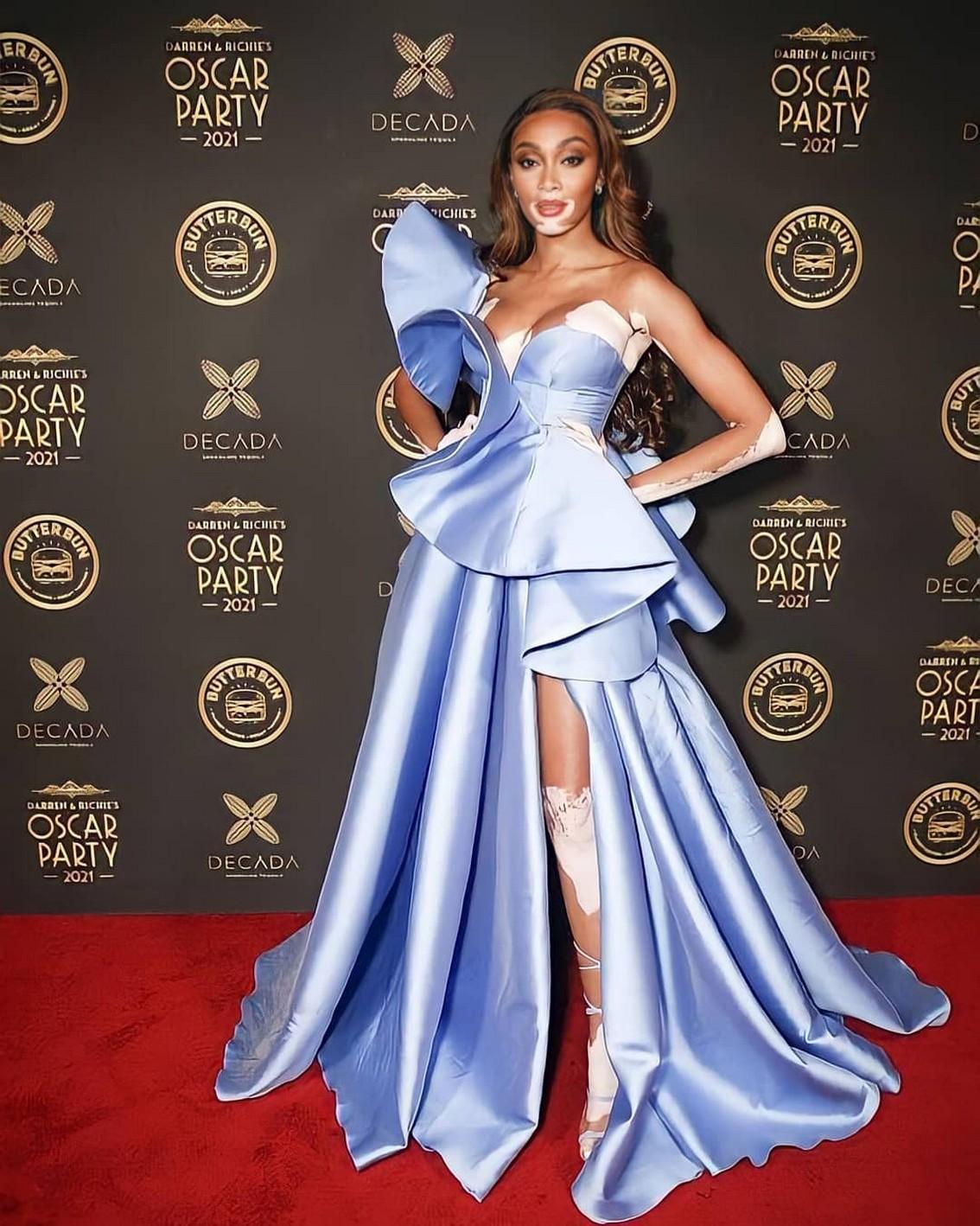 Winnie Harlow Oscar Party 2021